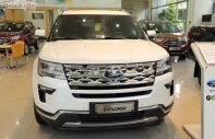 Cần bán xe Ford Explorer đời 2018, màu trắng, nhập khẩu nguyên chiếc giá 2 tỷ 268 tr tại Khánh Hòa