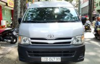 Bán xe Toyota Hiace sản xuất năm 2013 máy xăng, nhà sử dụng. Liên hệ: 0917174050 Thanh giá 425 triệu tại Tp.HCM