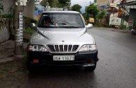 Bán xe Ssangyong Musso đời 2002, màu bạc giá 115 triệu tại Nam Định