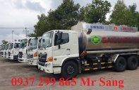Bồn nhôm Hino 20 khối chở xăng dầu giá tốt  giá 500 triệu tại Tp.HCM