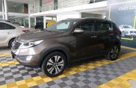 Bán xe Kia Sportage 1.5AT sản xuất năm 2011, màu nâu, nhập khẩu  giá 546 triệu tại Tp.HCM