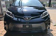 Bán ô tô Toyota Sienna 3.5 Limited năm sản xuất 2019, màu đen, nhập khẩu giá 4 tỷ 380 tr tại Hà Nội