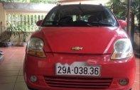 Bán Chevrolet Spark đời 2010, màu đỏ, xe gia đình giá 105 triệu tại Vĩnh Phúc