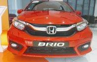 Bán Honda Brio V đỏ, xe nhập khẩu, giá cực rẻ, vay 90% chỉ cần 130Tr nhận xe giá 418 triệu tại Tp.HCM
