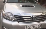 Bán Toyota Fortuner sản xuất 2016, màu bạc, chính chủ giá 825 triệu tại Hà Nội