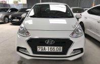 Bán Hyundai Grand I10 sedan 1.2AT màu trắng, số tự động, sản xuất 2017, đi đúng 11000km giá 388 triệu tại Tp.HCM