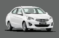 Bán Mitsubishi Attrage đời 2019, màu trắng, nhập khẩu Thái Lan, giá chỉ từ 372 triệu giá 372 triệu tại Bình Dương