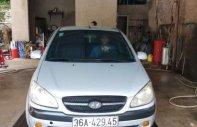 Cần bán xe Hyundai Getz sản xuất 2009, màu bạc, nhập khẩu giá 170 triệu tại Thanh Hóa
