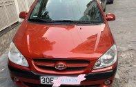 Cần bán Hyundai Getz đời 2008, màu đỏ, nhập khẩu nguyên chiếc  giá 240 triệu tại Hà Nội