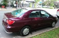 Bán Toyota Corolla altis 2003, màu đỏ, nhập khẩu giá 300 triệu tại Tp.HCM