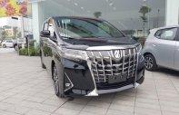 Bán ô tô Toyota Alphard 3.7 AT 8 cấp đời 2019, màu đen, nhập khẩu giá 4 tỷ 38 tr tại Hà Nội