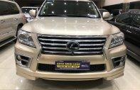 Bán Lexus LX570 màu vàng cát đời 2009 giá 2 tỷ 650 tr tại Tp.HCM