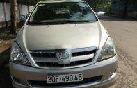 Bán lại xe Toyota Innova G đời 2008, màu bạc, số sàn giá 278 triệu tại Hà Nội