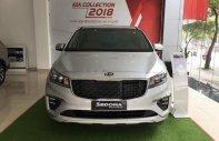 Bán xe Kia Sedona Luxury D năm sản xuất 2019, màu bạc giá 1 tỷ 129 tr tại Hà Nội