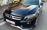 Cần bán xe Mercedes C300 AMG đời 2017, màu xanh Cavansite xe cực đẹp giá 1 tỷ 520 tr tại Hà Nội