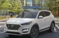Bán xe Hyundai Tucson Facelif 2019, màu trắng xe giao ngay giá 917 triệu tại Tp.HCM