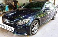Cần bán xe Mercedes C300 AMG ĐK 2017, màu xanh Cavansite cực hot giá 1 tỷ 498 tr tại Hà Nội