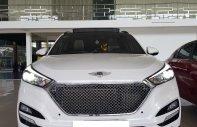 Hãng bán Hyundai Tucson Tubor 1.6AT, 2017 màu trắng, xe lên đồ cực đẹp giá 848 triệu tại Tp.HCM