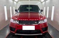 Bán Landrover Ranger Rover Sport HSE 3.0 Model 2019 màu đỏ, nhập Mỹ giá 5 tỷ 999 tr tại Hà Nội