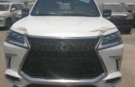 Bán xe Lexus LX 570 MBS Autobiography Edition sản xuất năm 2019 màu trắng, nhập khẩu giá 10 tỷ 550 tr tại Hà Nội