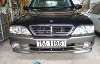 Bán Ssangyong Musso đời 2005, màu đen, nhập khẩu  giá 135 triệu tại An Giang