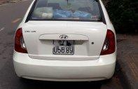 Bán Hyundai Verna năm sản xuất 2008, màu trắng, chính chủ giá 170 triệu tại Vĩnh Long