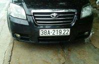Bán Daewoo Gentra sản xuất 2009, màu đen, 168 triệu giá 168 triệu tại Hà Tĩnh