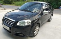 Gia đình bán xe Daewoo Gentra đời 2008, màu đen giá 165 triệu tại Bình Dương