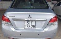 Cần bán Mitsubishi Attrage năm sản xuất 2015, màu bạc, nhập khẩu giá 280 triệu tại Tp.HCM