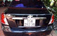 Bán xe cũ Chevrolet Lacetti đời 2008, màu đen giá 190 triệu tại Thái Nguyên