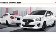 Bán Mitsubishi Attrage đời 2019, màu trắng, xe nhập giá 375 triệu tại Quảng Nam