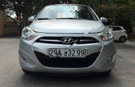 Gia đình bán Hyundai Grand i10 1.1 MT SX 2013, màu bạc, nhập khẩu giá 218 triệu tại Hà Nội