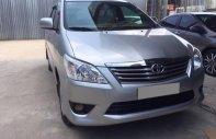 Cần bán xe Innova 2013, số sàn, màu bạc, gia đình sử dụng giá 456 triệu tại Tp.HCM