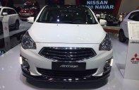 Cần bán Mitsubishi Attrage đăng ký lần đầu 2019, màu trắng, nhập khẩu nguyên chiếc, giá 395 triệu đồng giá 376 triệu tại Tp.HCM