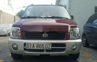 Bán Suzuki Wagon R sản xuất 2001, màu đỏ xe gia đình. giá 12 triệu tại Tp.HCM