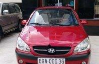 Cần bán Hyundai Getz MT đời 2010, màu đỏ, nhập khẩu nguyên chiếc giá 260 triệu tại Cà Mau