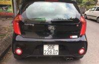 Cần bán Kia Morning đời 2016, màu đen, xe gia đình giá 340 triệu tại Hà Nội