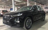 Bán xe Hyundai Santa Fe năm sản xuất 2019, màu đen, giá tốt giá 1 tỷ 180 tr tại Hà Nội