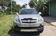 Bán Chevrolet Captiva LT MT sản xuất 2009, màu bạc xe gia đình giá 290 triệu tại Tiền Giang
