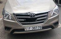 Cần bán gấp Toyota Innova đời 2015, màu bạc xe nguyên bản giá 555 triệu tại Tp.HCM