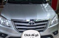 Bán xe Toyota Innova 2.0E 2014, màu bạc, xe nhập giá 485 triệu tại Ninh Thuận