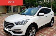Cần bán lại xe Hyundai Santa Fe 2.2L 4WD năm sản xuất 2018, màu trắng giá 1 tỷ 135 tr tại Hà Nội