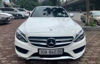 Bán Mercedes C250 AMG Full sản xuất năm 2015, màu trắng giá 1 tỷ 250 tr tại Hà Nội