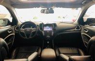Cần bán Hyundai Santa Fe đời 2015, màu đen, xe gia đình giá 838 triệu tại Tp.HCM