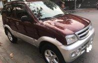 Cần bán xe Daihatsu Terios 1.3 MT 4WD sản xuất 2006, màu đỏ số sàn giá 198 triệu tại Hà Nội