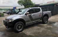 Cần bán Mitsubishi Triton GLS 4x4 MT 2009, màu bạc, nhập khẩu Thái   giá 285 triệu tại Hà Nội