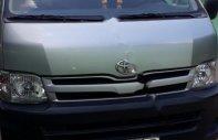 Bán Toyota Hiace đời 2010, màu bạc, nhập khẩu số sàn giá 255 triệu tại Tp.HCM