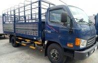 Bán xe Hyundai HD thùng mui bạt năm 2017, màu xanh lam, nhập khẩu giá 600 triệu tại Tp.HCM