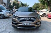 Bán xe Hyundai Santa Fe 2.2L 4WD 2016, màu nâu, số tự động  giá 985 triệu tại Hà Nội