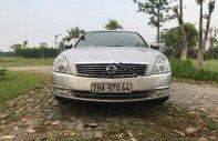 Bán Nissan Teana đời 2008, màu bạc, nhập khẩu  giá 350 triệu tại Hà Nội